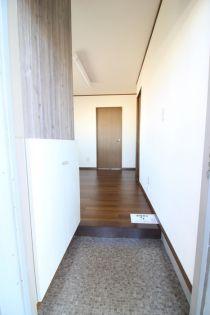 産陽ビルの廊下