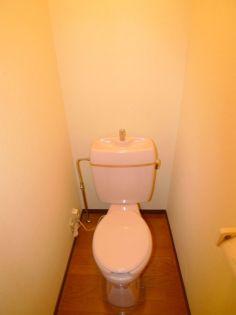 ライオンズハイツ1号棟のトイレ