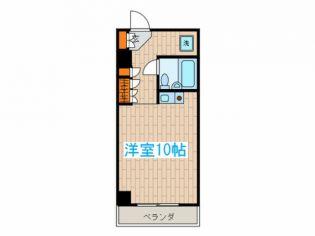MGビル[6階]の間取り