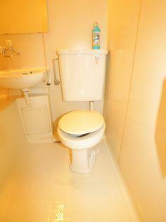 高野台ビルパート1のトイレ