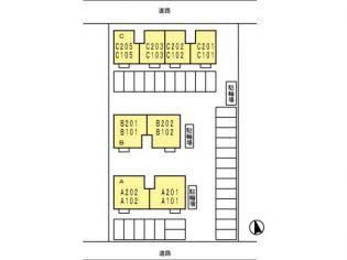 セジュール渡邊(D) 2階の賃貸【広島県 / 福山市】