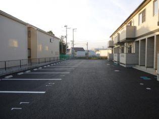宮城県仙台市太白区袋原字小原の賃貸アパートの外観