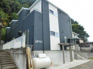 宮城県仙台市太白区越路の賃貸アパートの外観