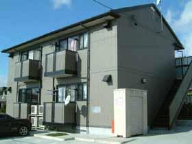 愛知県海部郡大治町大字三本木字柳原の賃貸アパートの外観
