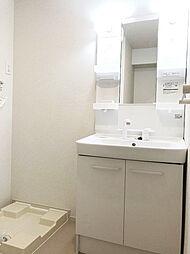 洗髪洗面化粧台、室内洗濯機置き場