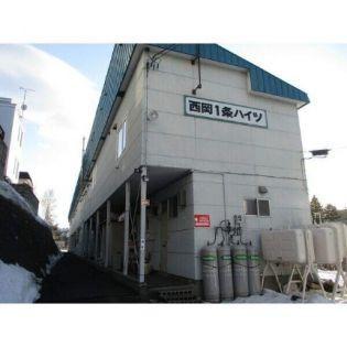 タウンハイツウエスト(旧西岡1条ハイツ) 1階の賃貸【北海道 / 札幌市豊平区】