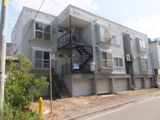元町アパートメント 3階の賃貸【北海道 / 札幌市白石区】