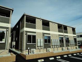 宮城県仙台市太白区西多賀1丁目の賃貸アパートの外観