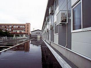 レオパレス泉3 2階の賃貸【秋田県 / 秋田市】