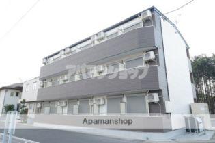 埼玉県坂戸市関間4丁目の賃貸アパートの外観