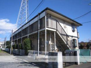 東京都青梅市東青梅5丁目の賃貸アパートの外観