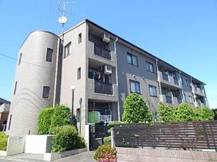 東京都武蔵村山市神明3丁目の賃貸マンションの外観