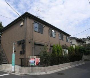 東京都練馬区上石神井2丁目の賃貸アパートの外観