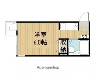 東京都杉並区阿佐谷北2丁目の賃貸マンションの間取り