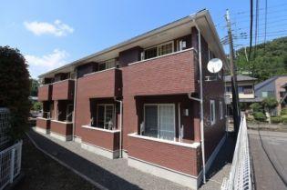 東京都あきる野市入野の賃貸アパートの外観