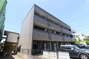 東京都羽村市五ノ神3丁目の賃貸アパートの外観
