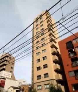 東京都港区元麻布2丁目の賃貸マンションの外観