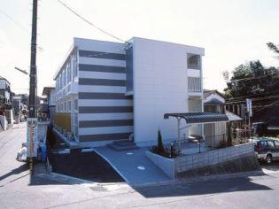 レオパレスカメリア六番館[101号室]の外観