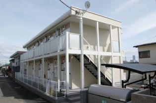レオパレスラッキーサン横浜[103号室]の外観