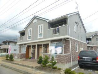 長野県長野市神明の賃貸アパートの外観