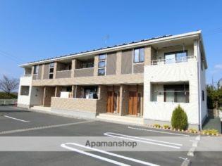 静岡県掛川市長谷の賃貸アパートの外観