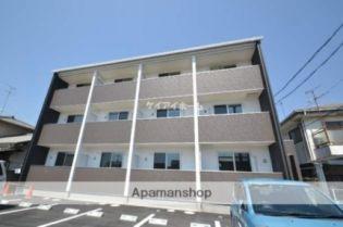 岡山県岡山市中区中島の賃貸アパート