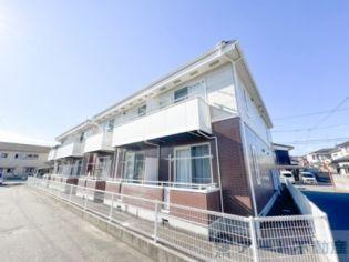 愛媛県松山市大可賀2丁目の賃貸アパートの外観