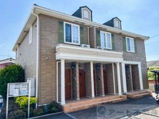 愛媛県松山市祝谷2丁目の賃貸アパートの外観