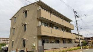 熊本県合志市須屋の賃貸アパートの外観