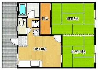 コーポ山本 1階の賃貸【福岡県 / 宗像市】