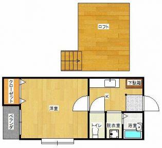 ポラリス別府Ⅴ 2階の賃貸【福岡県 / 福岡市城南区】
