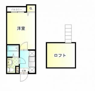 中長コーポ井尻 2階の賃貸【福岡県 / 福岡市南区】