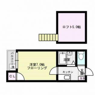 K・K・S21 1階の賃貸【福岡県 / 福岡市南区】