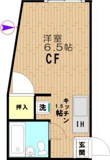 北新宿2丁目マンション[205号室]の間取り