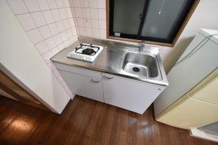 ベルハイツのベルハイツ キッチン 香芝市関屋の賃貸マンション