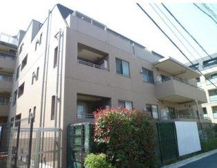 コートレアル三田綱町[4階]の外観
