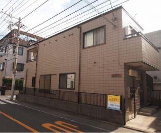 東京都目黒区洗足1丁目の賃貸アパートの外観