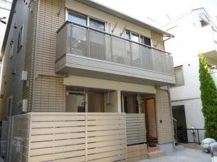 東京都港区白金3丁目の賃貸アパートの外観