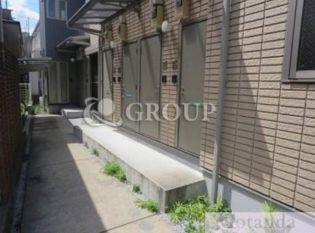 東京都目黒区南2丁目の賃貸アパートの外観