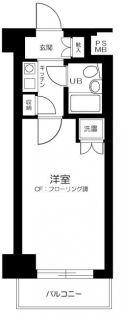 グローリア初穂桜台Ⅱ[810号室]の間取り