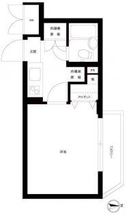 ルーブル新宿西落合Ⅱ[207号室]の間取り