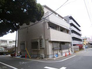 東京都新宿区西落合2丁目の賃貸アパートの外観