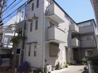 東京都豊島区雑司が谷3丁目の賃貸アパートの外観