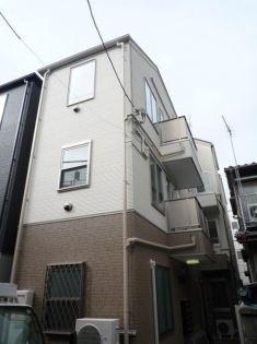 東京都荒川区西尾久5丁目の賃貸アパートの外観
