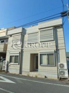 東京都目黒区原町2丁目の賃貸アパートの外観