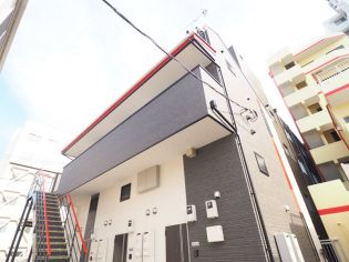 G・Aヒルズ三ツ沢下町[1階]の外観
