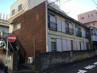 神奈川県横浜市中区根岸町3丁目の賃貸アパートの外観