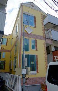 神奈川県横浜市中区根岸町1丁目の賃貸アパートの外観