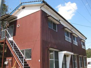 福岡県朝倉郡筑前町砥上の賃貸アパートの外観