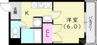MY尼崎[8階]の間取り
